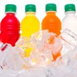 Stock Photo: Bottled Fruit Juice Drinks