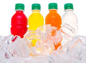 Bottled Fruit Juice Drinks — Stock Photo