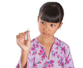 Young Girl And Medicine Tablets — Foto de Stock