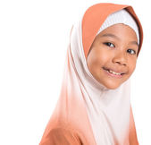 Young Muslim Girl With Hijab — Stock Photo