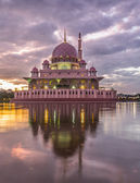 Mosque At Dawn — Stock Photo