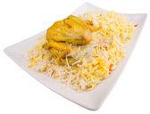 Chicken Kabsa — Stock Photo