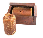 Brown Coconut Sugar — Stock Photo