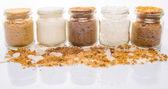 Different Sugar Variety — Stock Photo