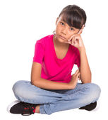 Young Girl Casual Attire — Stock Photo