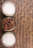 Sugar and Star Anise Spice — Stock Photo