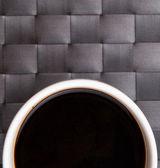 A Mug of Black Coffee — Stock Photo