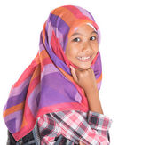 Muslim School Girl — Stock Photo