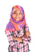 Muchacha de la escuela musulmana — Foto de Stock