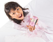 Young Girl Overslept — Stock Photo