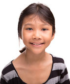 Young Asian Girl Portraiture — Stock Photo