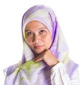 Muslim Female With Hijab — Stock Photo
