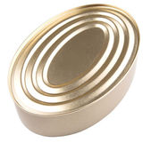 Oval Shape Tin Can — Stock Photo