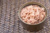 Ingeblikte tonijn — Stockfoto