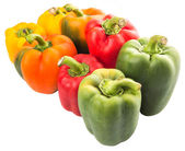 Kleurrijke paprika — Stockfoto