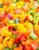 Colorful Capsicums — Stock Photo
