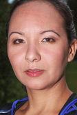 Portrait of a Siberian woman — Stock Photo