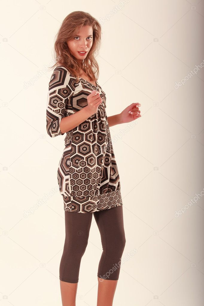 Young Brazilian with an outfit for office and street — Stock Photo #12836801
