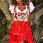 Brazilian beauty in Bavaria — Stock Photo