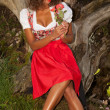 Romantisch girl — Stockfoto