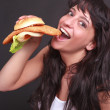 Stock Photo: Breading is meat of enjoyment