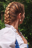 French plait — Stock Photo
