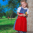 Stock Photo: BavariDirndl Preschooler