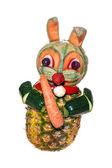 Vegetarian Bunny - optional — Stock Photo