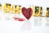 Heart and gifts — Stockfoto