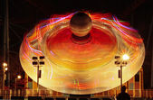 Disc shaped UFO — Stock Photo