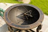 Alte koreanische Solaruhr aus Metall gefertigt — Stockfoto