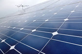 Solar cell battery panel — Stock Photo