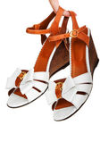 Ladies sandals — Stock Photo