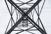 Reliance power line — Stock Photo