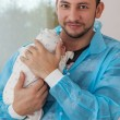 Stock Photo: Father and child