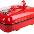 Red jerrycan — Stock Photo #23992161