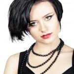 Fashion portrait young beautiful woman — Stock Photo #24564051