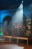 Scene for musician perform — Stock Photo
