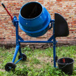 Concrete mixer — Stockfoto