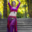 Oriental Dancer — Stock Photo