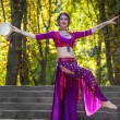 Stock Photo: Oriental Dancer