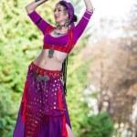 Oriental Dancer — Stock Photo