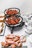 Buffet breakfast — Stock Photo