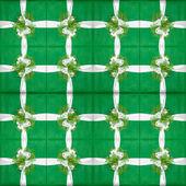 Veel groene geschenkdozen — Stockfoto