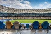 Leere stadion — Stockfoto