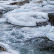 Mountain river in winter — Stock Photo #38442093