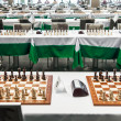 Starting chess tournament — Stock Photo