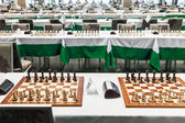 Starting chess tournament — Stockfoto