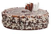 Milk chocolate cake — Stock Photo
