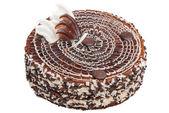 Milk chocolate cake — Стоковое фото